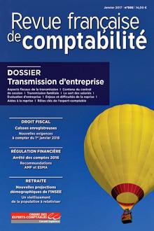 Book : Revue française de comptabilité co-written by Antoine Legoux