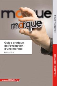 Ouvrage : Guide pratique de l'évaluation d'une marque co-rédigé par Antoine Legoux