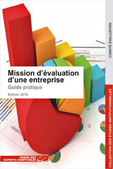 Ouvrage : Mission d'évaluation d'une entreprise co-rédigé par Antoine Legoux