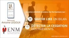 ENM formations : Antoine LEGOUX