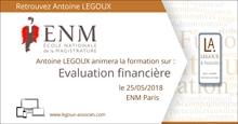 Ouvrage : Évaluation Financière Expliquée co-rédigé par Antoine Legoux