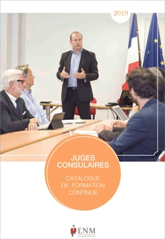 Antoine LEGOUX Juges Consulaires Catalogue de formation - ENM Paris 2019
